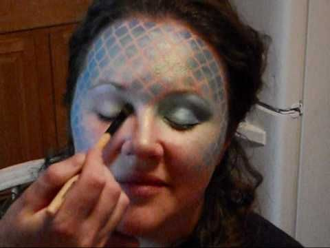 Mermaid Makeup Tutorial Part 2