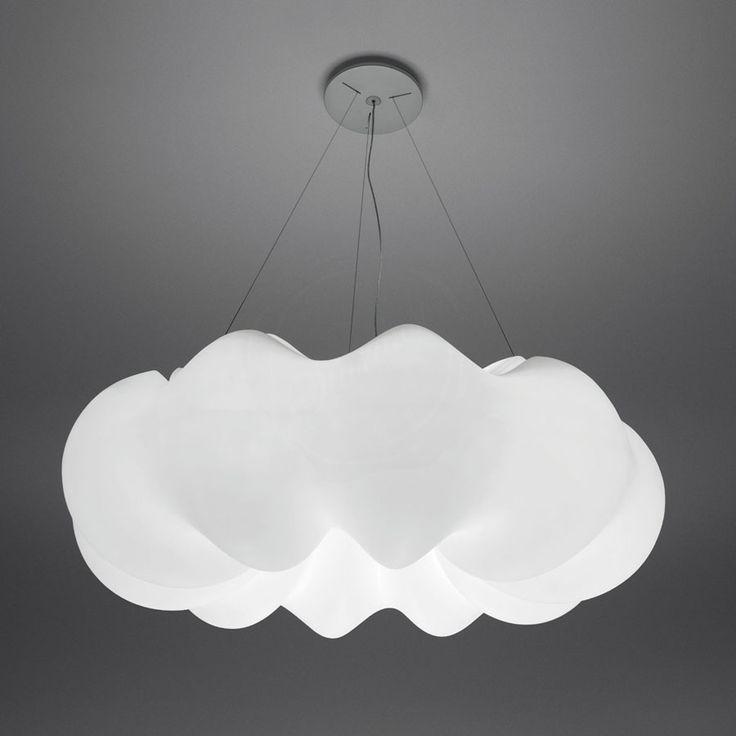 Потолочный светильник ARTEMIDE 1708 010A, цвет: белый, материал: пластик - фото, характеристики