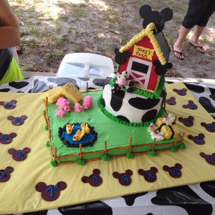 Mickey Mouse Cartoons John Deere Tractors : Best images about mickey mouse farm birthday on