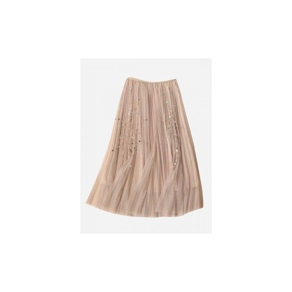 Burgundy Pleat Detail Layered Tulle Maxi Fairy Skirt ($39) ❤ liked on Polyvore featuring skirts, long maxi skirts, stretch maxi skirt, brown pleated skirt, long pleated maxi skirt and brown maxi skirt