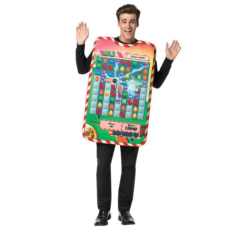 Play the game... be the game... WEAR the game! The Candy Crush Game Board Tunic is a great way to show your love of the game! For a great couples costume, pair it up with the Candy Crush Game Board Dress. #candycrush #gameboard #halloween #gamers #costume