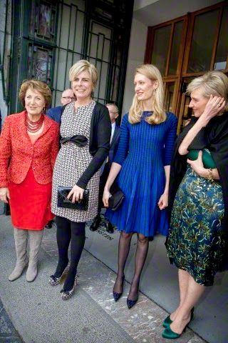 Princess Margriet Award for Culture prize of the European Cultural Foundation (ECF), 31 March 2015, in Brussels.