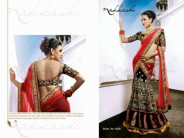 Exclusive Saree Collection For Navratri/Diwali Festival | Nakkashi Saree's | Festive Wear Sarees 2013-14
