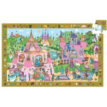 Djeco - Discovery Puzzle Princess 54 Piece. Great activity with my miss 6! #entropywishlist #pintowin