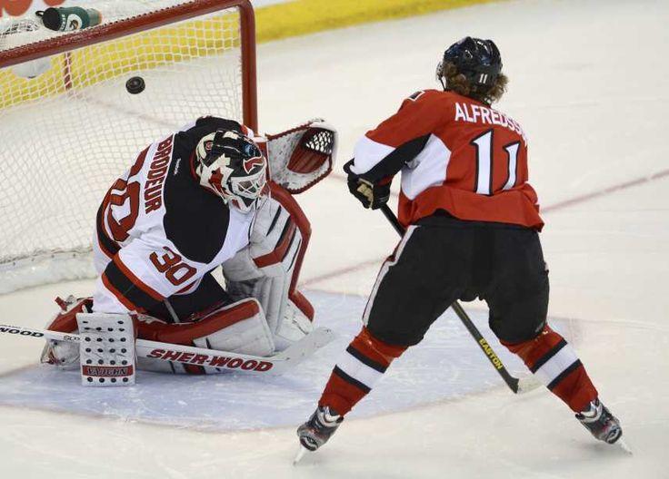 Daniel Alfredsson, by the numbers   Ottawa Senators Extra