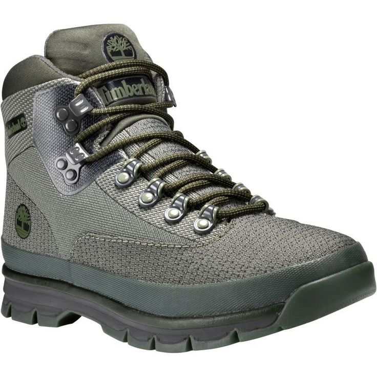 Timberland Men's Euro Hiker Jacquard Hiking Shoes, Forest Night