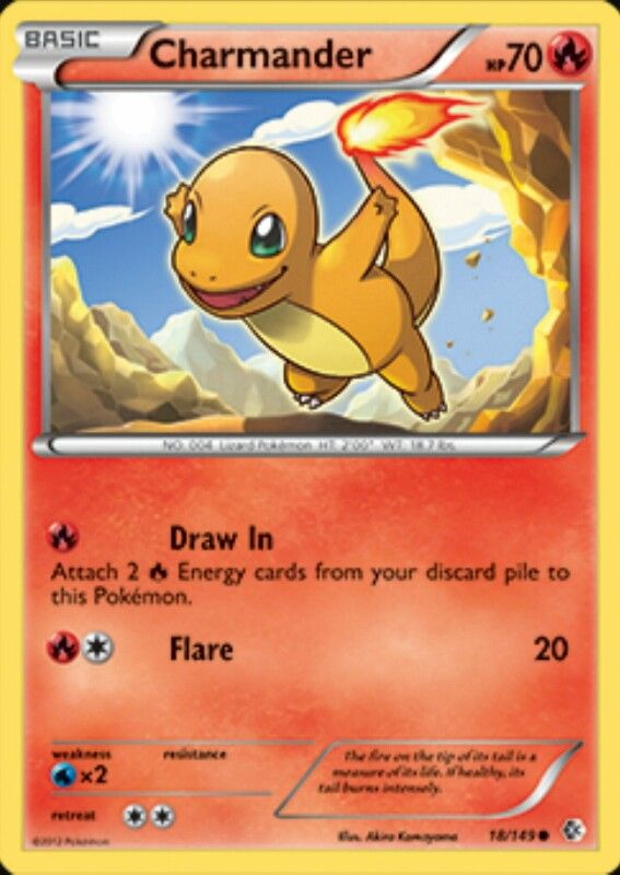 I Will Always Love The Charmander Card So Cute