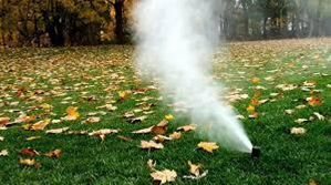 Fall Sprinkler Blowouts only $75 with Conserva Irrigation Northern Virignia