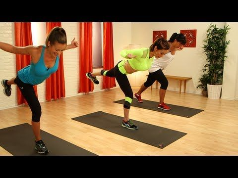▶ Little Black Dress Workout, Holiday Fitness, Class FitSugar - YouTube