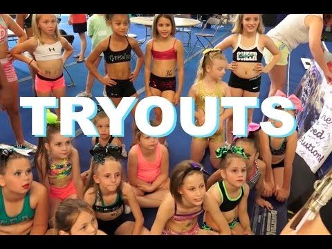 Cheer Extreme Tryouts 2015 - YouTube