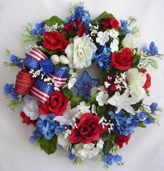 memorial day silk flower arrangements