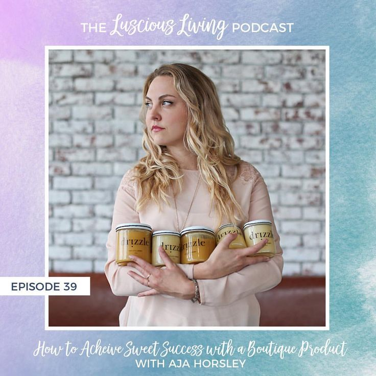 """The Luscious Living Podcast (@lusciouslivingpodcast) on Instagram: """"How to Achieve Sweet Success 🍯🐝with a Boutique Product! . . Today we're joined by Aja Horsley,…""""    Raw Honey 