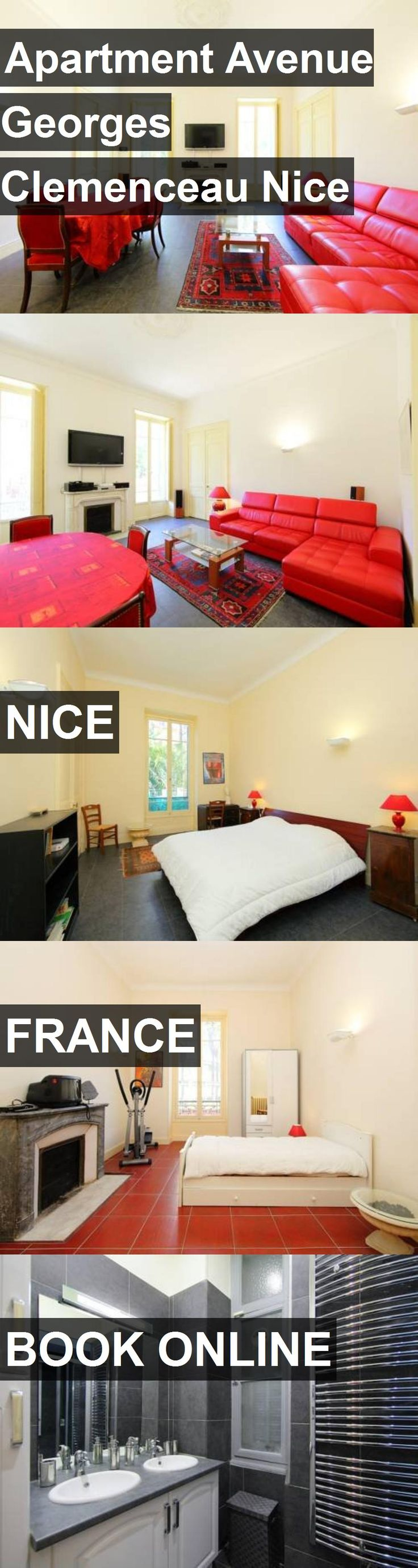 Hotel Apartment Avenue Georges Clemenceau Nice in Nice, France. For more information, photos, reviews and best prices please follow the link. #France #Nice #ApartmentAvenueGeorgesClemenceauNice #hotel #travel #vacation