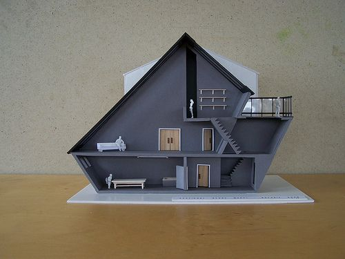Become an Ambassador of #buildyful.com  to represent your #Architecture School in the world! See more details here: buff.ly/1xRomMd~~House Architecture model.