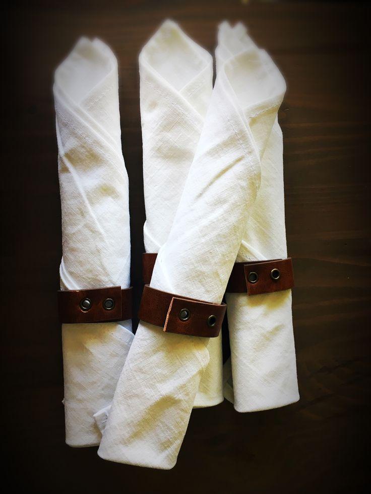 Napkins. Old belt