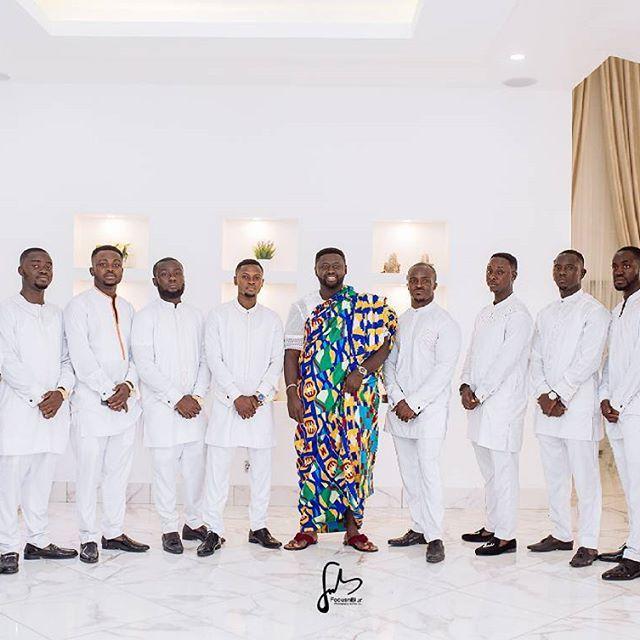 Meet Kwabena and the gentlemen #squadgoals #bride #traditionalwedding #ghana #kumasi #usabride #dapperbride #dapper #classic #radiancebride #idoghana #idolondon #kissthebrideghana #ghanawedding #kente  #weloveghanawedding #bellanaijaweddings #africansweetheartweddings  #weloveghanaweddings #topweddingsafrica  #love #wedding