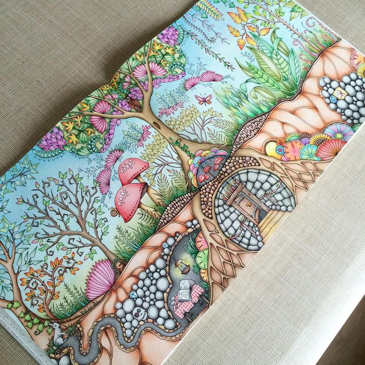 Enchanted Forest GardenColoring BooksAdult