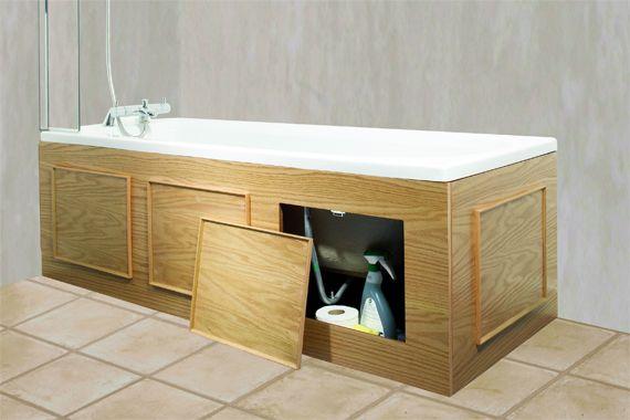 Bathtub Storage Panel | Bathroom Storage Solutions