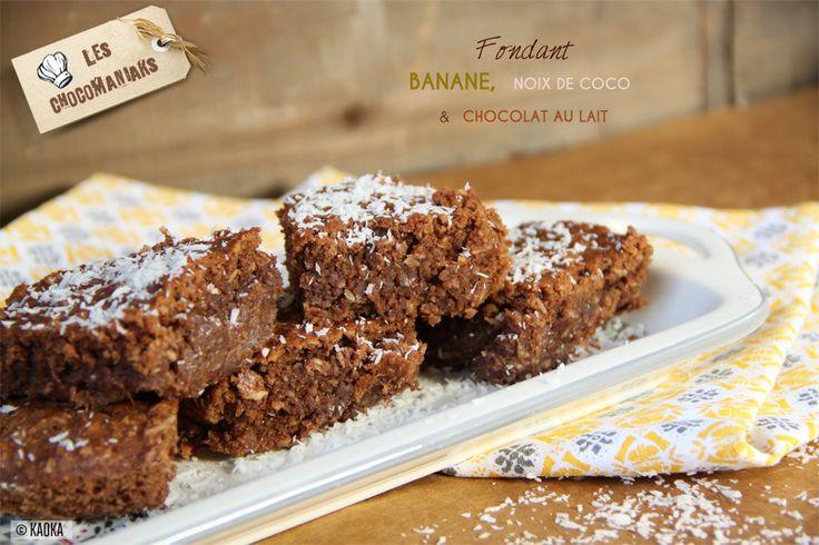 Undélicieux fondant aux saveurs exotiques!Une recettesans matière grasse ni sucre ajoutés! Idéale pour les beaux jours d'été!  Votre chocolat pour cette recette : la Tablette DESSERT Chocolat au Lait KAOKA