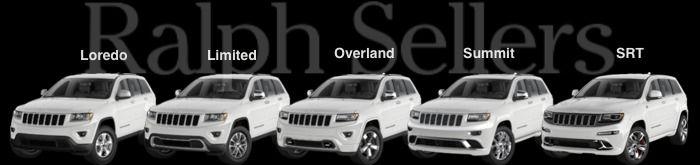 2014 Jeep Grand Cherokee Trims