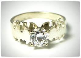 Batman Wedding Ring!!! I would love this!