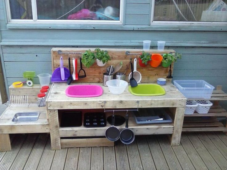 Kitchen from pallets
