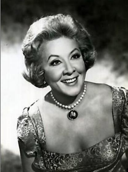 Vivian Vance...now this woman built a career on being funny...she's like the Melissa McCarthy of the 50s, the unashamed cute fat friend