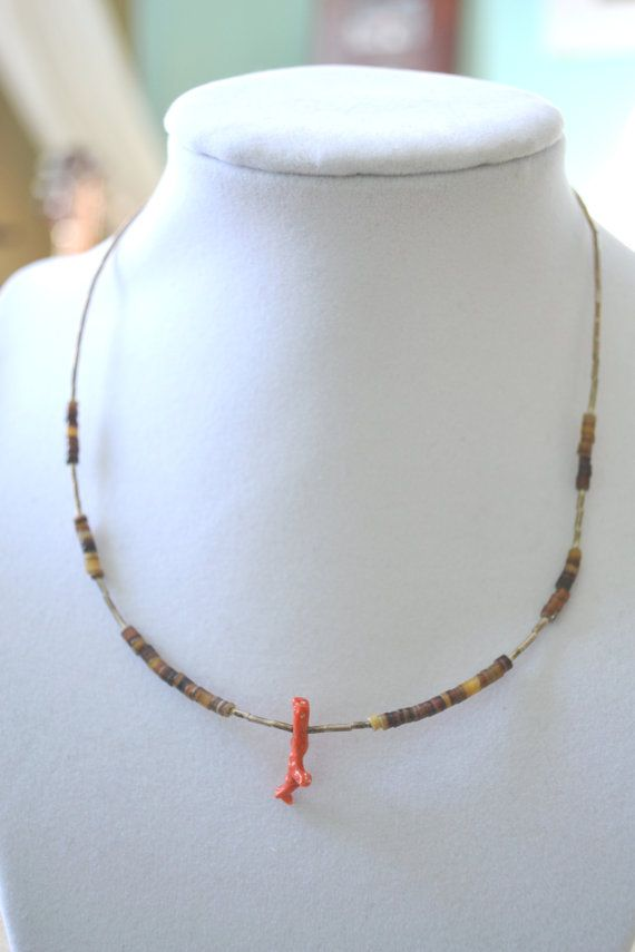Vintage Native American Indian Carved Heishi by talkOfThetown, $28.00