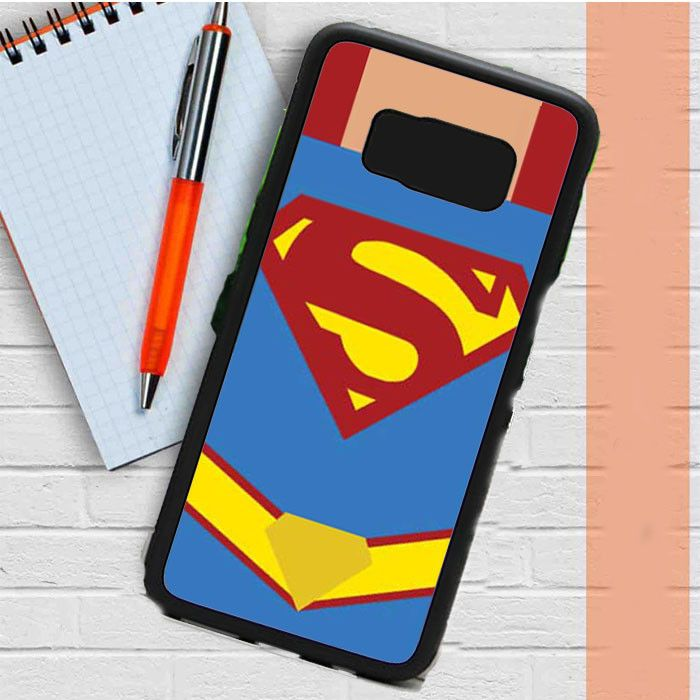 Superman Costume Cartoonish Samsung Galaxy S8 Plus Case Casefreed