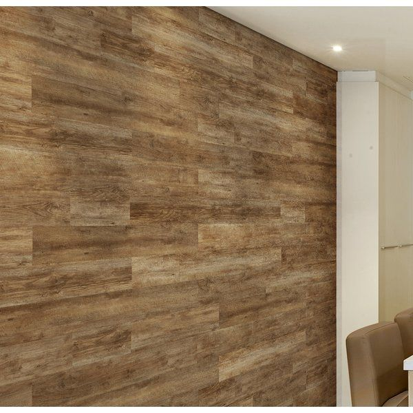 This Light Solidity 5 Vinyl Wall Paneling In Northwest Oak Is Designed For Interior Walls And Ceilings Stron Vinyl Wall Panels Wall Paneling Allure Flooring
