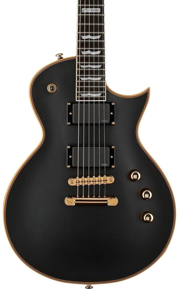 GuitarQueue - ESP LTD EC-1000 VB Vintage Black Electric Guitar NEW (http://guitarqueue.com/esp-ltd-ec-1000-vb-vintage-black-electric-guitar-new/)