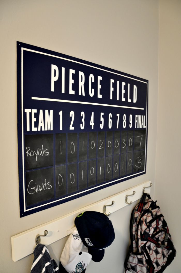 25 best ideas about baseball scoreboard on pinterest for Baseball scoreboard wall mural