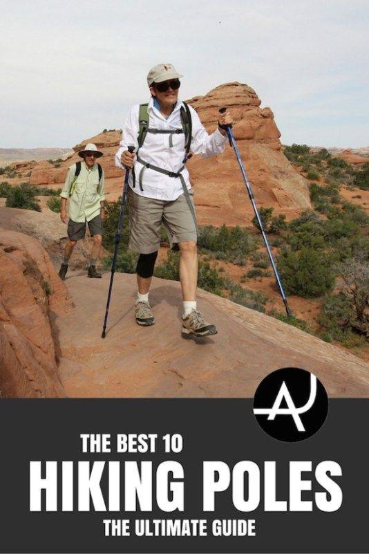 Top 10 Best Hiking Poles of 2017 – Best Hiking Gear For Beginners – Backpacking Gadgets – Hiking Equipment List for Women, Men and Kids via @theadventurejunkies