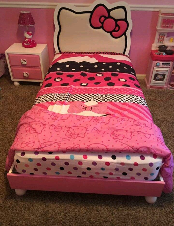 Hello Kitty Bedroom Set For $300 Part 57
