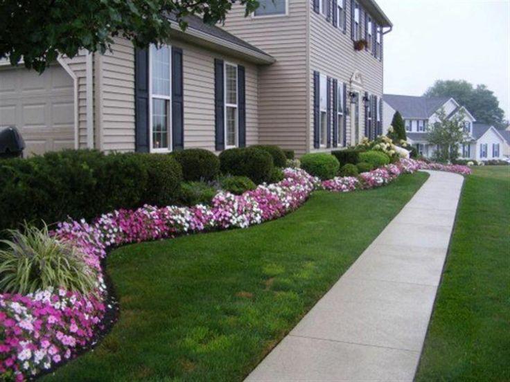 Front Flower Garden Design