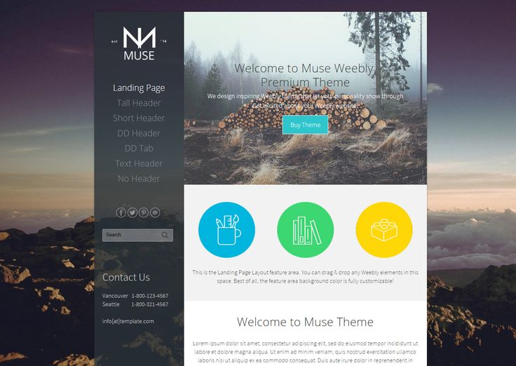 38 best images about Weebly Themes on Pinterest