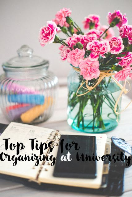 Top 5 Organizational Tips for University