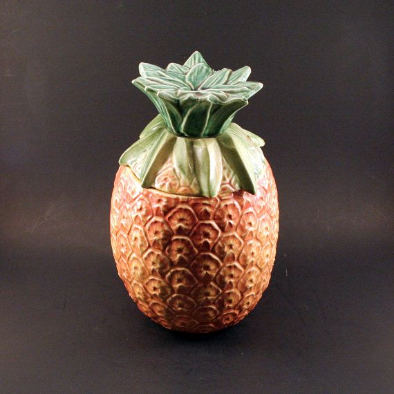 Mccoy Pineapple Cookie Jar Antiques I Love 2