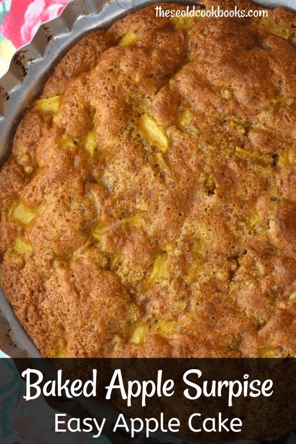 Baked Apple Surprise – Einfacher Apfelkuchen