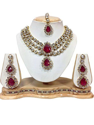 Unique Bollywood Indian Bollywood Gold Plated Wedding Nec... https://www.amazon.com/dp/B01N4PL1IN/ref=cm_sw_r_pi_dp_x_5YDHybVKZD4T2