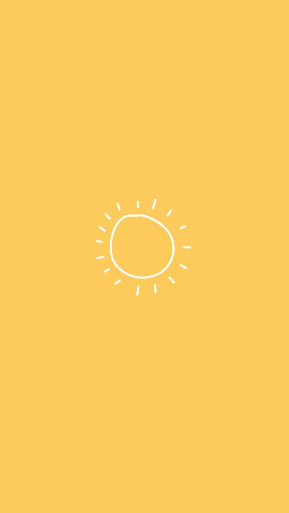 Yellow Sunny Wallpaper In 2019 Iphone Wallpaper Yellow