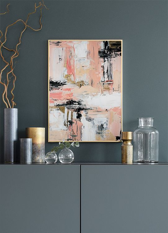 Abstract No1, poster in the group Prints / Sizes / 40x50cm | 16x20 at Desenio AB (8382)