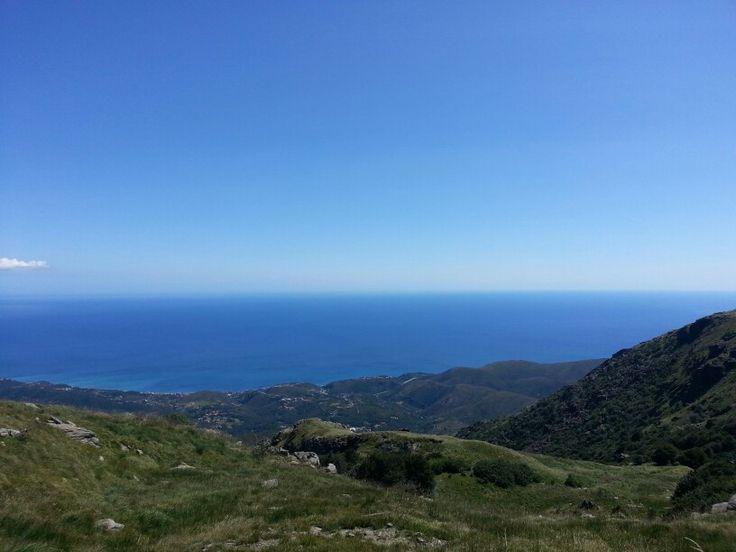 Monte Beigua beautiful view