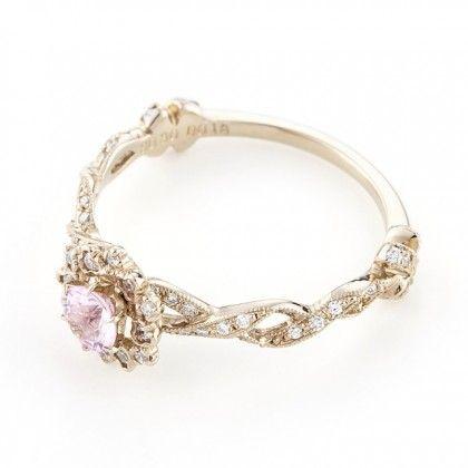 Pink sapphire Diamond Ring 商品画像
