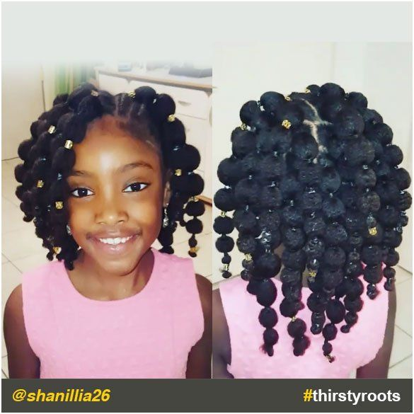 27 Easter Hairstyles For African American Toddlers Ideas Hair Puff Natural Hair Styles Ball Hairstyles
