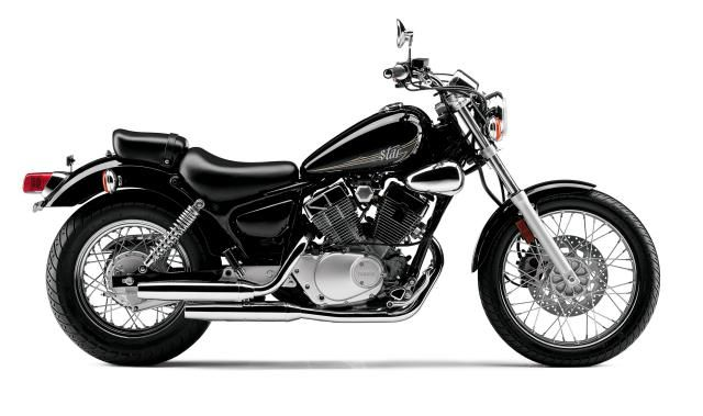 Ten Great Beginner Bikes for Absoulute Newbies: 2012 Yamaha V-Star 250 ($4,190)