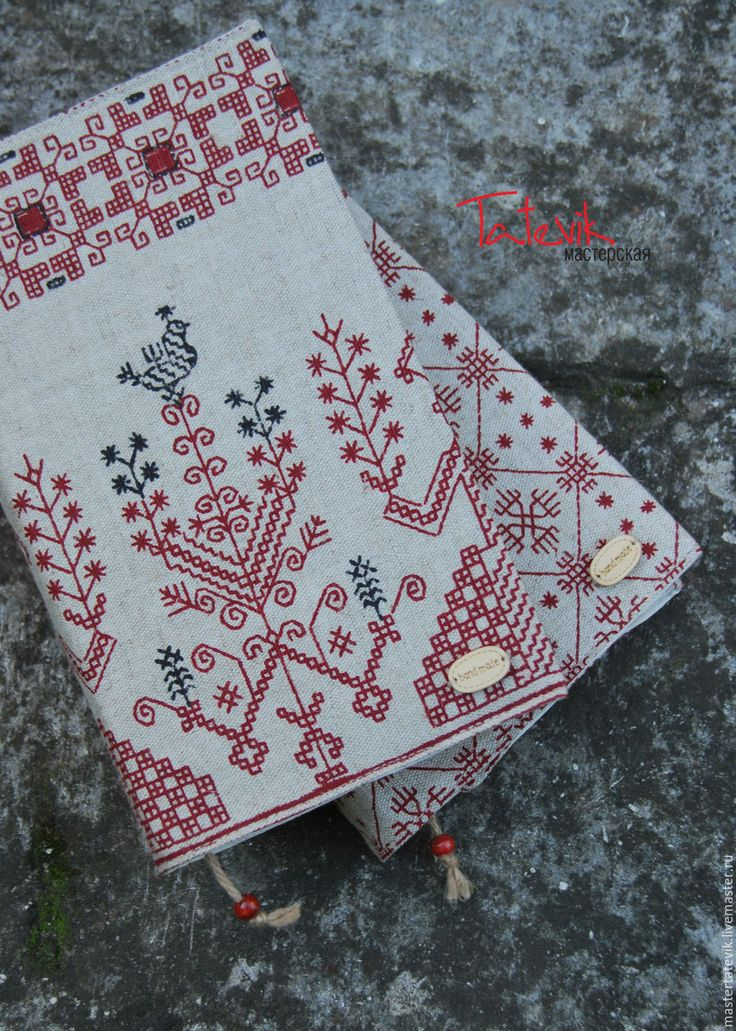 """Handmade Book covers """"Slavic ornaments"""" cover diary - book"""