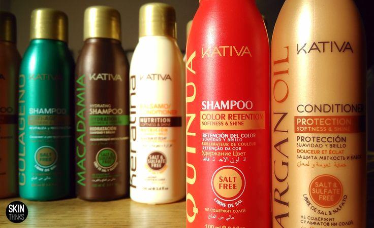 Todo Kativa al 35%, champús, acondicionadores y las increíbles mascarillas capilares. Kativa Natural es cuidado para el cabello. Una eficaz unión entre lo mejor de la naturaleza y lo más avanzado de la investigación para el pelo. Cinco líneas especializadas para la protección y el cuidado del cabello:  Kativa con Aceite de Argan,  Kativa Colágeno Kativa Keratina Kativa Macadamia Kativa Quinoa  No te quedes sin ellos.    #rebajas #oferta #skinthinks