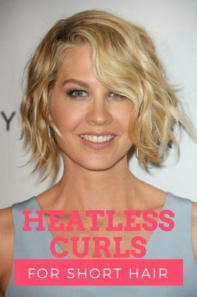 Heatless Curls for Short Hair Tips Overnight Curling