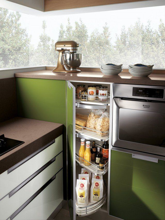 Cucine moderne ad angolo soluzioni funzionali - Cucine Moderne